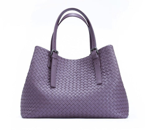 'Bella Charis' Nelly Hand-woven Leather Tote (2 colours)