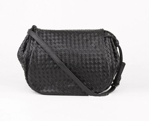 'Bella Charis' Hanna Hand-woven Leather Cross Body Bag (5 colours)