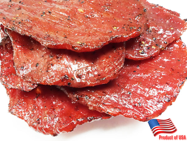 Beef Jerky (Black Pepper Flavor)  黑胡椒牛肉