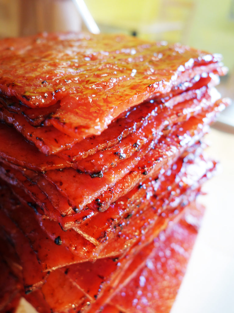 *BEST SELLER* Pork Jerky (Original Flavor)  原味豬肉  aka Bak Kwa