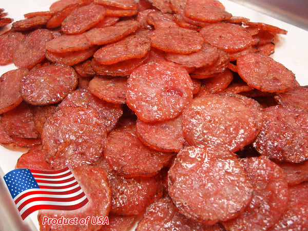 Minced Pork Medallion Jerky (Original Flavor) 碎片猪肉 ( 金钱形)