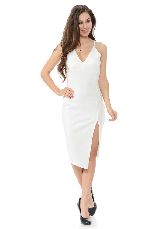 Diamante Fashion Women's Dress - Style D154