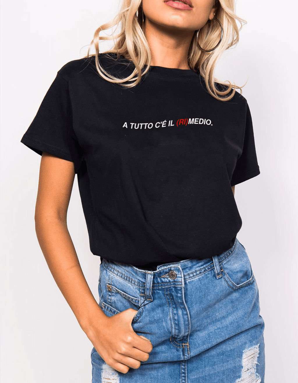 At all there is the  Women T-shirt
