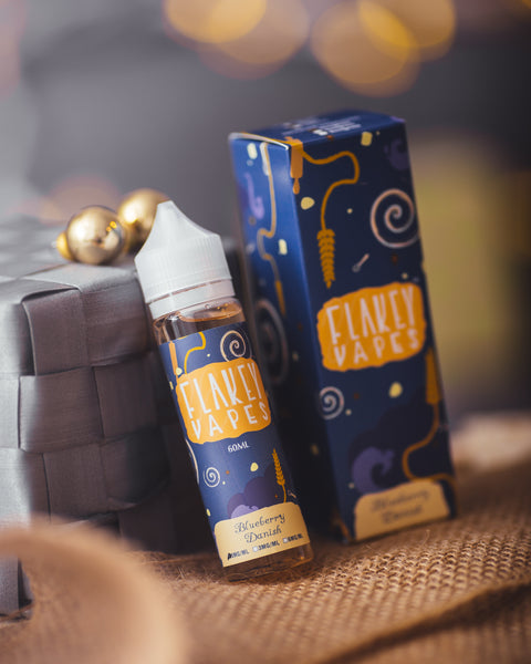 Flakey Blueberry Danish Max VG E-Liquid 50ml Short fill