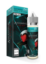 Game On Assassin's Cream  Max VG E-Liquid 50ml Short fill