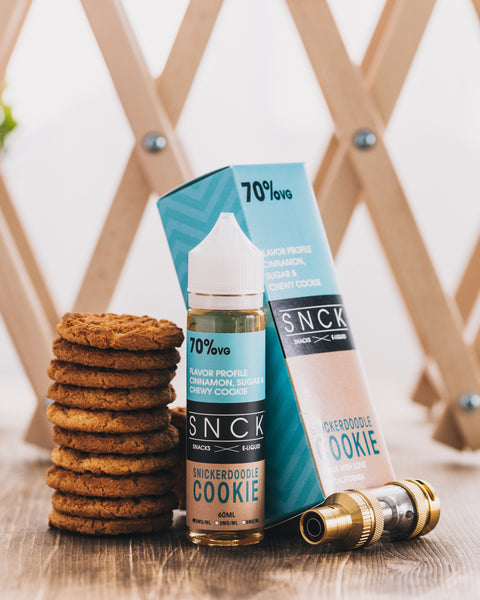 SNCK Snickerdoodle Cookie  Max VG E-Liquid 50ml Short fill