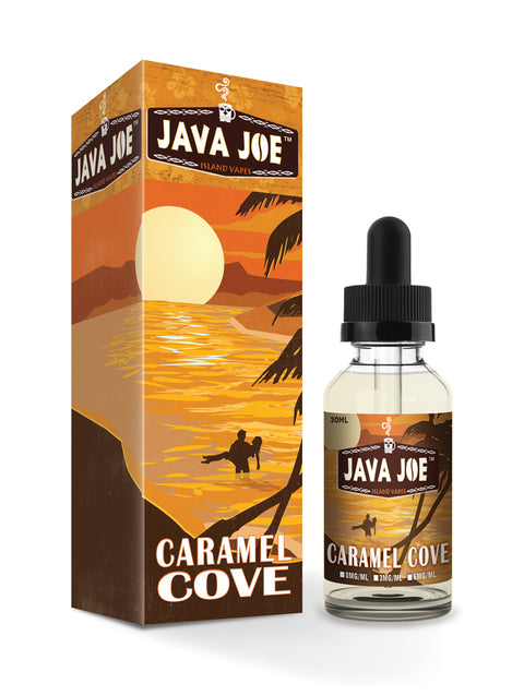 Java Joe Caramel Cove Max VG E-Liquid 50ml Short fill