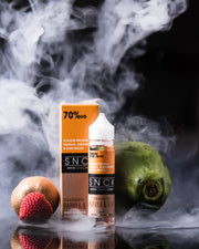 SNCK Strawberry Papaya & Kiwi  Max VG E-Liquid 50ml Short fill
