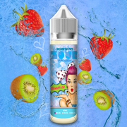 Zour FROZEN Strawberry Kiwi Max VG E-Liquid 50ml Short fill