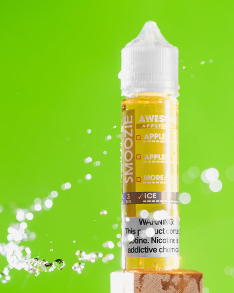 SMOOZIE Awesome Apple Sour ICE - 50ml Max VG E-Liquid