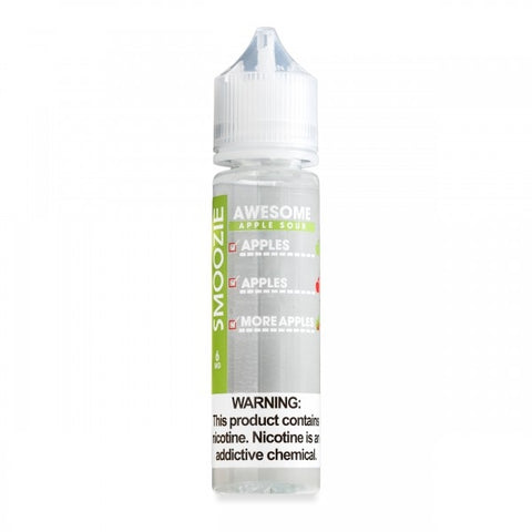 Smoozie Awesome Apple Sour Max VG E-Liquid 50ml Short fill