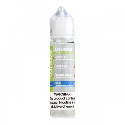 Smoozie Awesome Apple Sour ICE Max VG E-Liquid 50ml Short fill