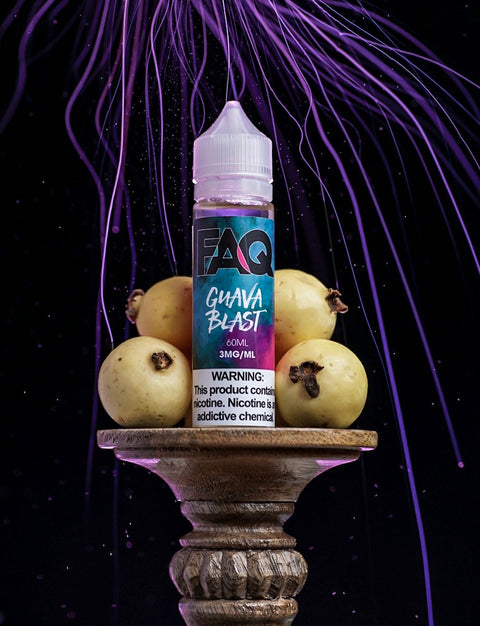 FAQ Guava Blast - 50ml Max VG E-Liquid