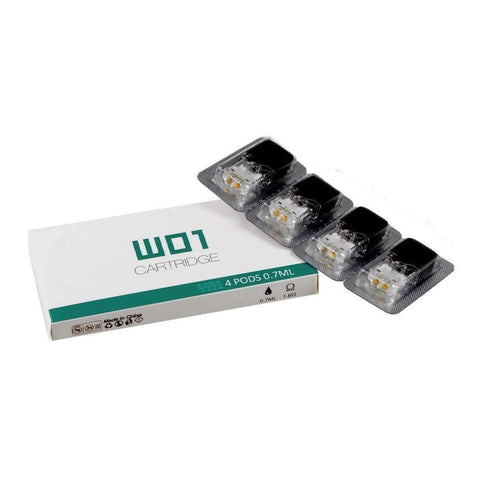OVNS W01 Replacement Pod Cartridge, Juul Compatible - PACK OF 4