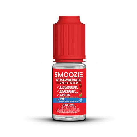 Smoozie ICE Strawberries Gone Wild Max VG E-Liquid
