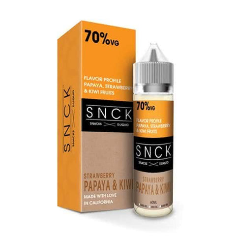 SNCK Strawberry Papaya & Kiwi Max VG E-Liquid (50ml short fill + nic booster)