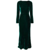 Dark Green Medium And Long Elegant Party Dress