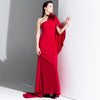 Red Elegant Evening Dress