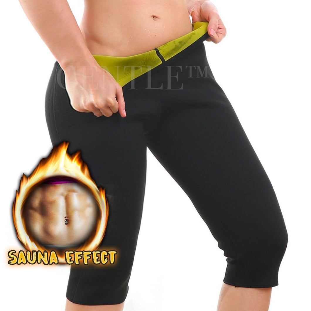 GENTLE™ Hot Body Slimming Sauna Capri Leggings