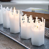 Selection of Zinc Candle Trays - Greige - Home & Garden - Chiswick, London W4