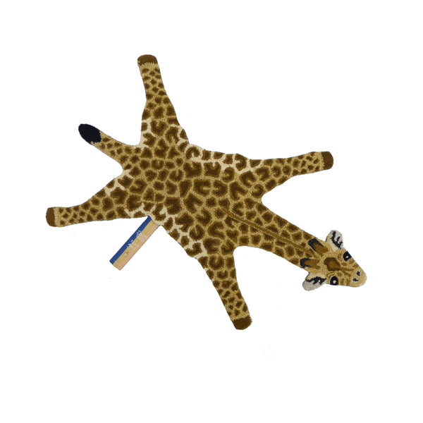Gimpy Giraffe Rug - Tapis Amis Collection from Doing Goods - Greige - Home & Garden - Chiswick, London W4