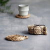 Set of Four Seagrass Coasters