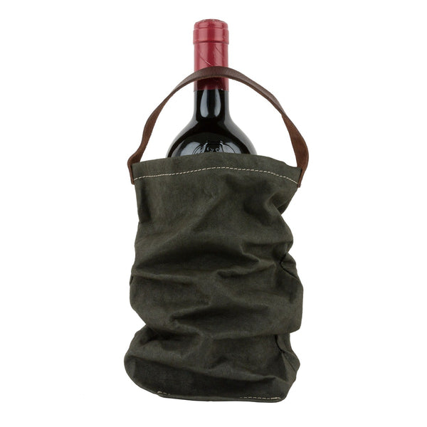 Washable Paper Wine Bag with Cooler