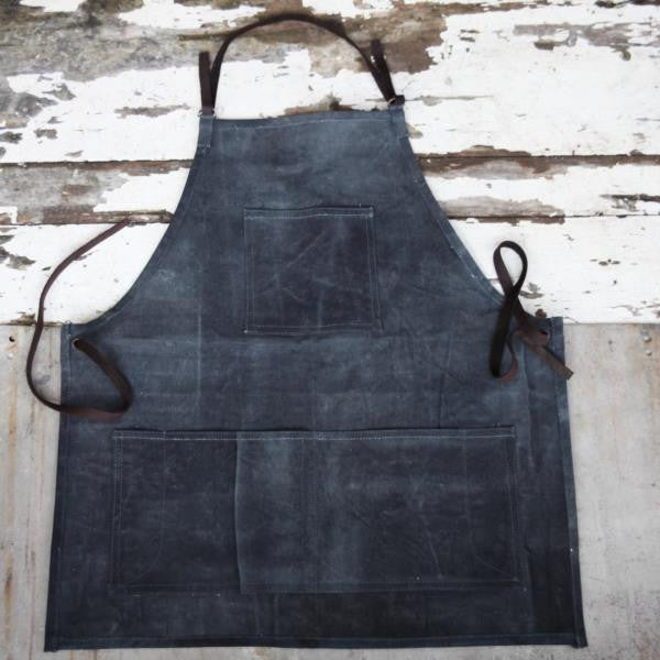 Artisan Canvas Apron - Greige - Home & Garden - Chiswick, London W4