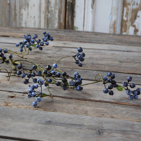 faux blueberry branch