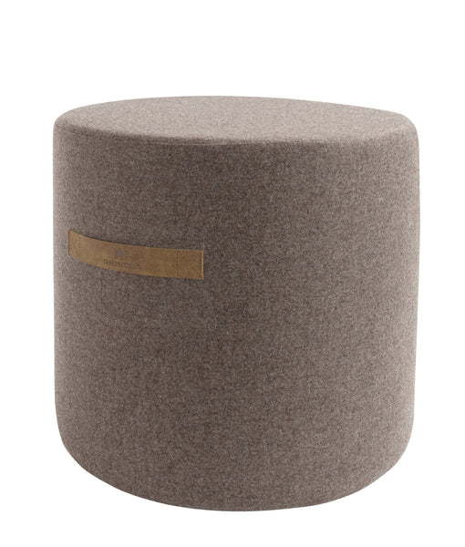 Shepherd of Sweden Pure Wool Pouf Sara Cappuccino