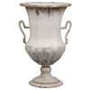 French Style Metal Urn - Two Sizes - Greige - Home & Garden - Chiswick, London W4