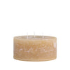Short Three Wick Candle - 15 x 7cm