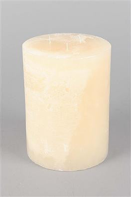 3 Wick Candle Cream Tall 200 hours burn time