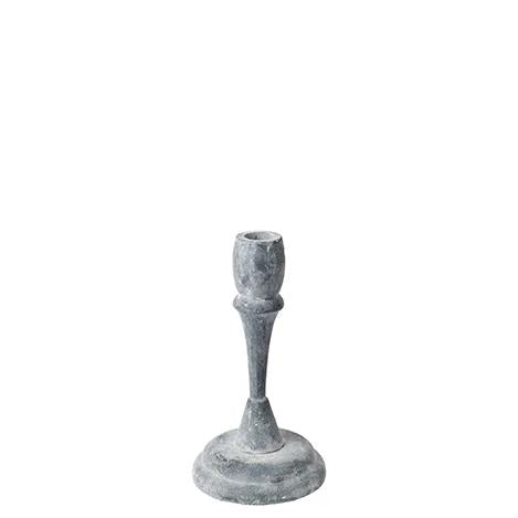 Grey Cast Iron Candlestick - Five Styles - Greige - Home & Garden - Chiswick, London W4