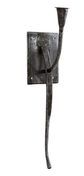 Metal Wall Candle Holder for Dinner Candle - Greige - Home & Garden - Chiswick, London W4
