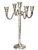 Antique Silver Metal Candelabra - Three Sizes - Greige - Home & Garden - Chiswick, London W4