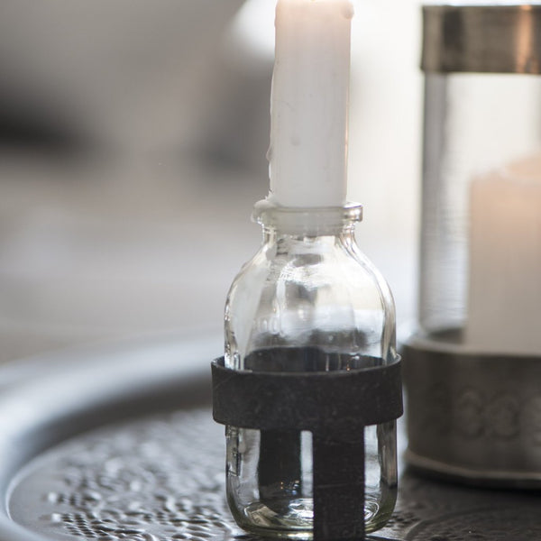 Bottle Candle Holder for Mini Dinner Candle