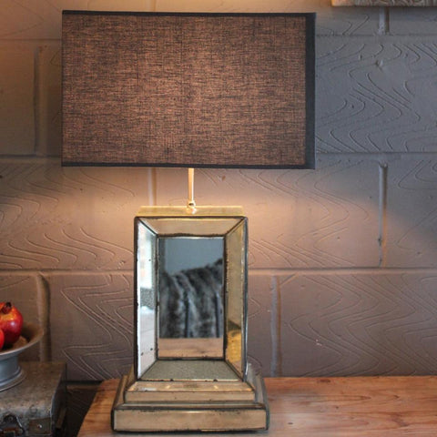 Stunning Mirror Lamp - Large - Greige - Home & Garden - Chiswick, London W4