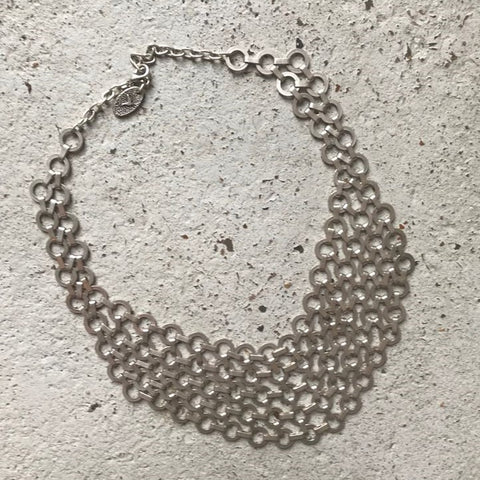 Angelina Chainmail Bilb Necklace