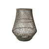 Dove Grey Bamboo Lantern - Anita - Broste Copenhagen - Two Sizes - Greige - Home & Garden - Chiswick, London W4