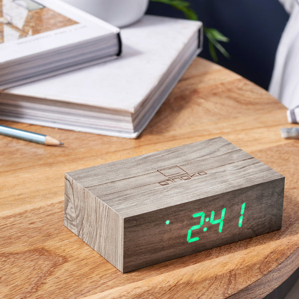 Flip Click Clock - Greige - Home & Garden - Chiswick, London W4