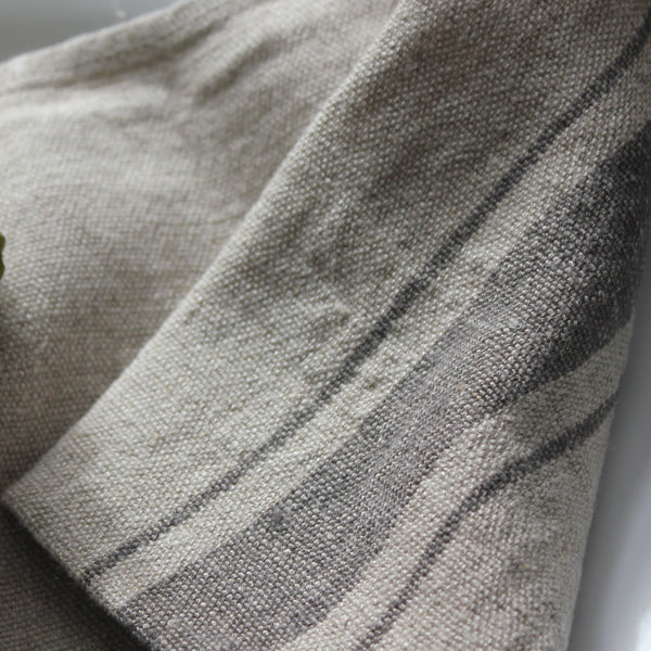 Rustic Linen Cushion Covers - discontinued colours - Greige - Home & Garden - Chiswick, London W4