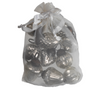 Bag of Ten Antique Silver Hanging Decorations - Greige - Home & Garden - Chiswick, London W4
