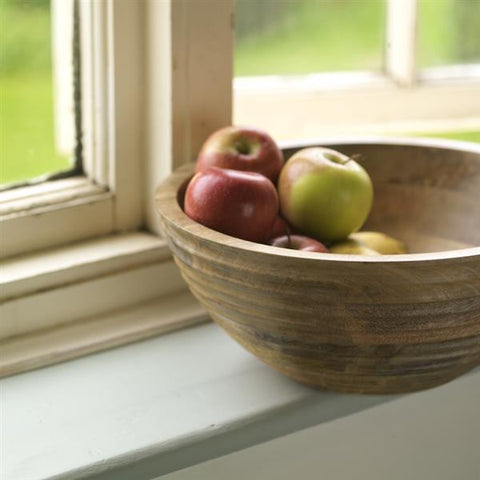 Large Handcrafted Mango Wood Bowl