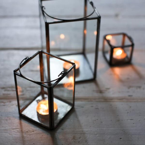 Glass Box Lanterns