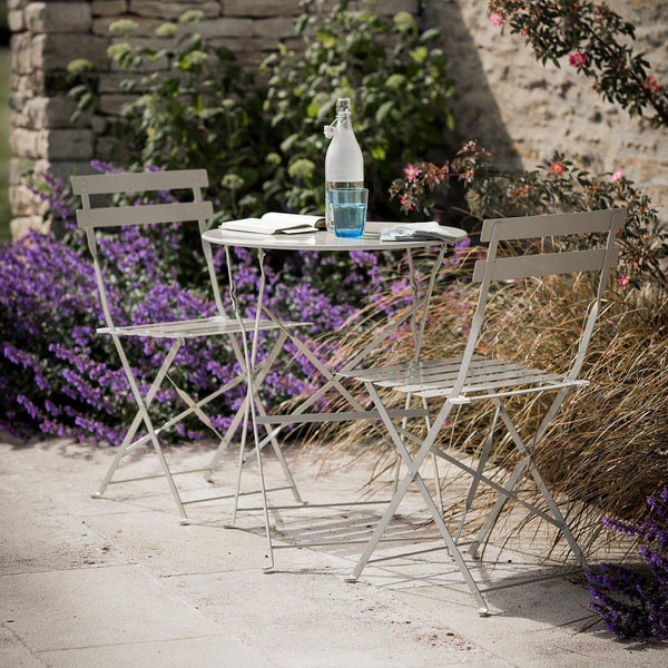 Garden Bistro Set - Small - Various Colours - Greige - Home & Garden - Chiswick, London W4