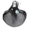 Filt French String Net Tote Market Bag Classic Black Short Handles