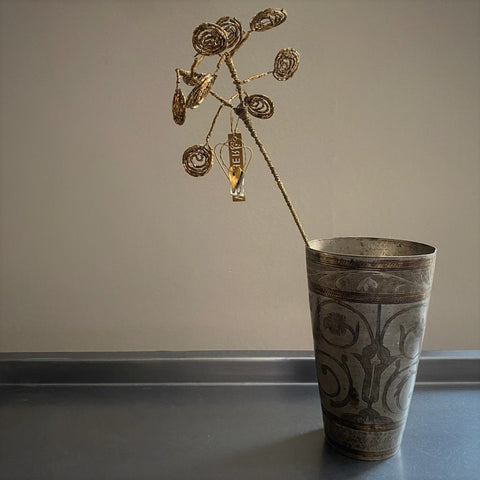 Brass Beaded Cow Parsley - Botanical Range - Walther & Co