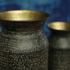 Brass Pot with Antique Black Finish - Two Sizes - Greige - Home & Garden - Chiswick, London W4