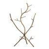 branch tree jewellery holder light gold
